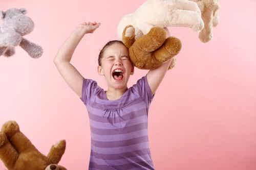 Qué sienten los niños cuando se enfadan