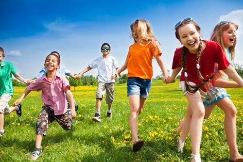 Beneficios del juego al aire libre