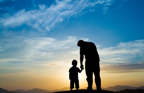 padre-enseña-a-su-hijo