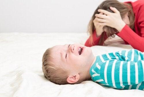 Consecuencias del castigo físico en niños