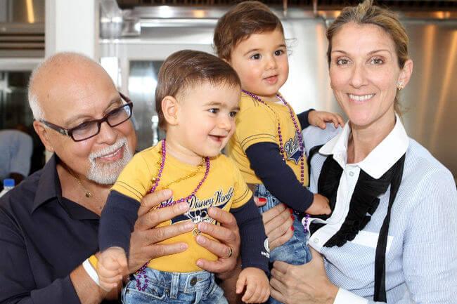 Céline Dion se convirtió en madre después de los cuarenta