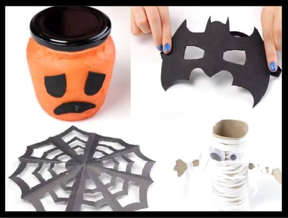 4 manualidades para Halloween que puedes hacer con tus hijos