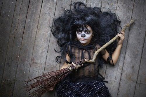 Maquillajes infantiles para Halloween
