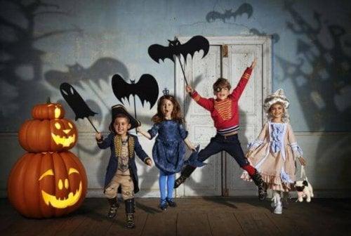 niños-haloween