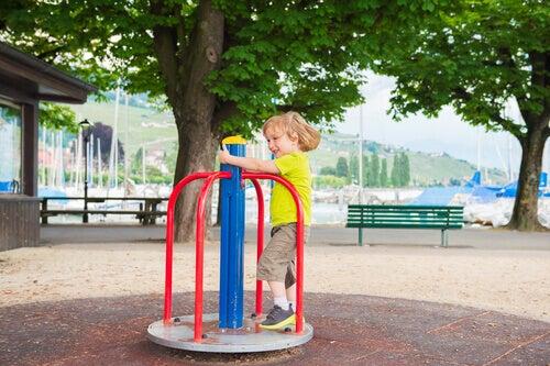 Consejos para afrontar las caídas de los niños.