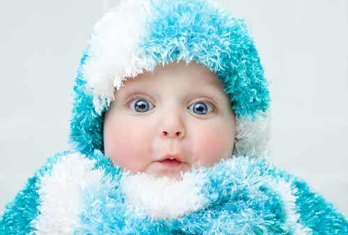Previene el resfriado del bebé en época de lluvias