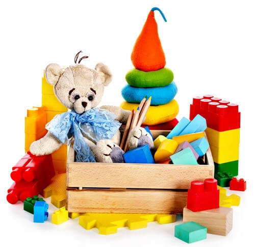 La elección de juguetes según la edad