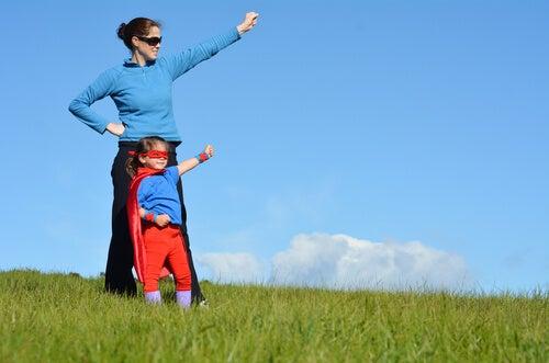 Toda mamá es una heroína ante los ojos de su hijo