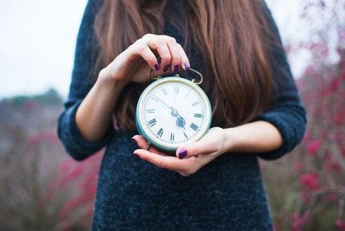 El tiempo es un factor determinante en nuestro organismo.