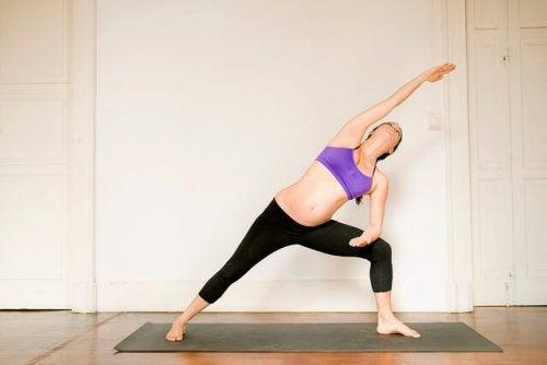 4 buenos ejercicios durante la gestación