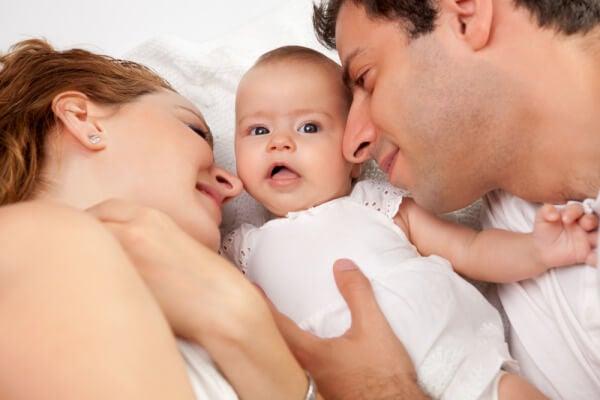 Es maravilloso poder compartir juntos el milagro de la vida.