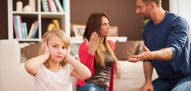 Padres que no se ponen de acuerdo en la educación