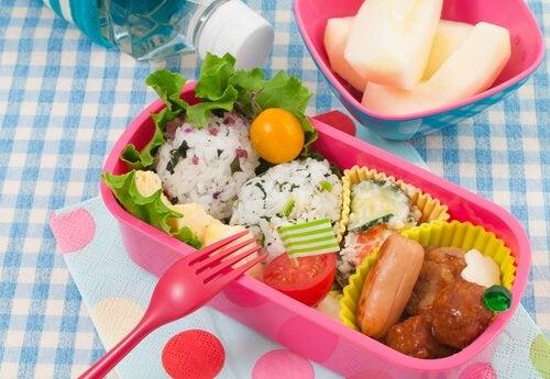 Porciones recomendadas para niños de 1 a 4 años
