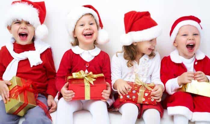 La regla de los cuatro regalos navideños