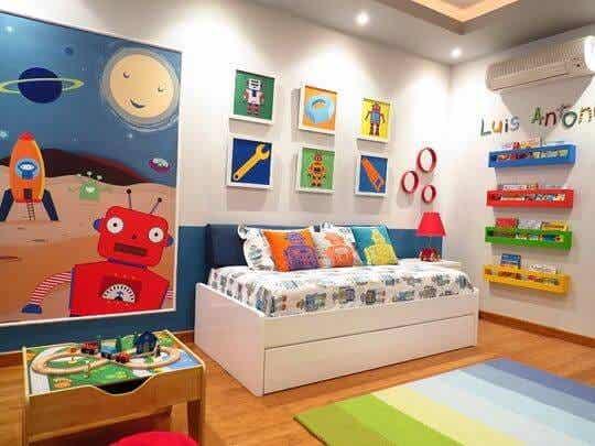 Colores para la habitación de tu hijo, ¿cuáles son los ideales?
