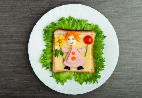 Haz tus platos atractivos para que tu hijo coma