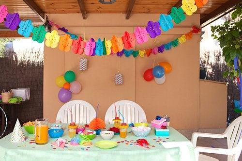 Fiestas de cumpleaños.