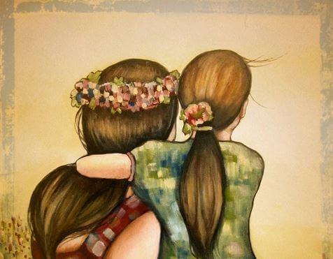 El amor de una madre va más allá de los años