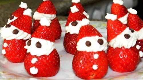 Postres sencillos y sanos para navidad