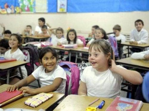 A la escuela de mi hijo van niños con necesidades especiales