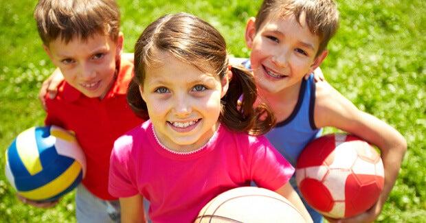 Los mejores deportes durante la educación infantil
