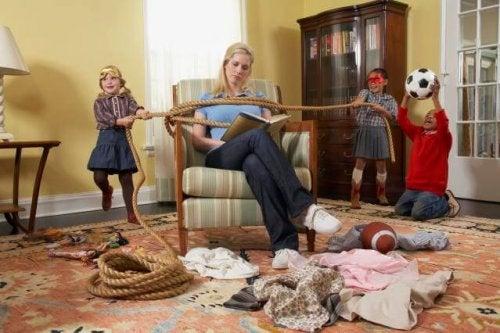 Por qué los niños se portan mal con sus padres