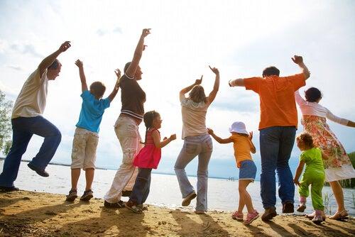 Consejos de organización para familias numerosas