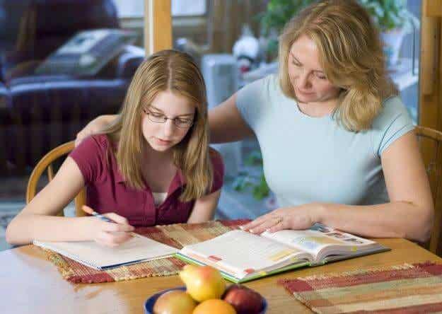¿Debería ser la maestra de mi hijo?