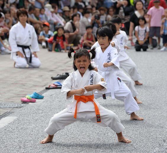¿Artes marciales para moldear el carácter del niño?