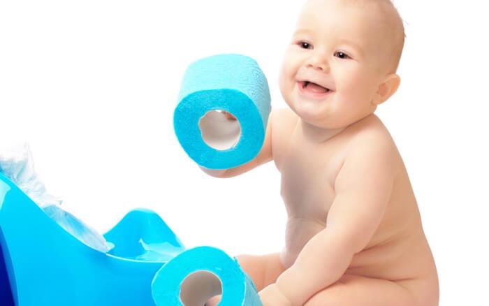 El estreñimiento en los bebés: causas