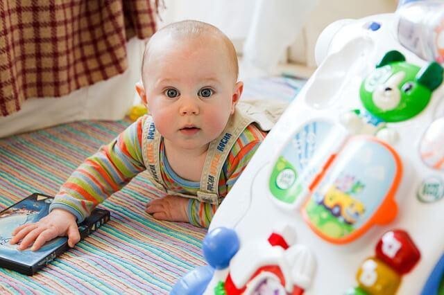Cosas que se pasan cuando el bebé crece