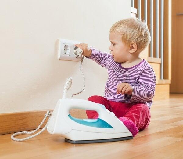 ¿Cómo actuar ante una quemadura infantil?