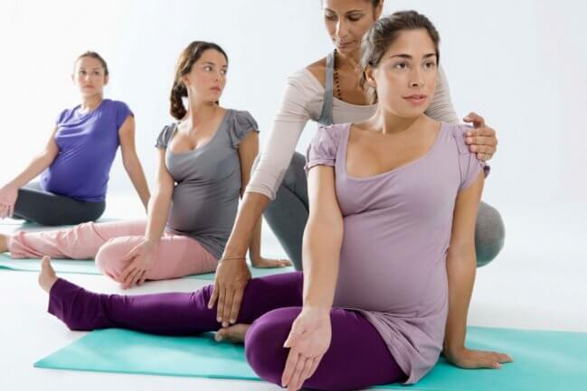 Ejercicios físicos durante el embarazo
