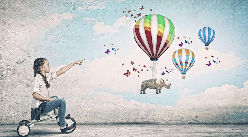 Aprendiendo a desarrollar la imaginación infantil