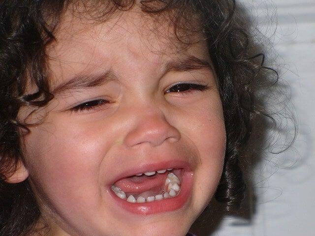 La importancia de llorar en los niños