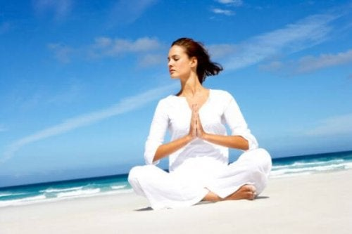 3 posturas de yoga para quedar embarazada