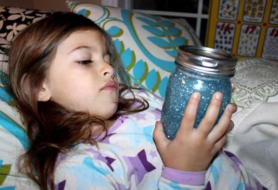 ¡Quiero un frasco de calma para mi hijo!