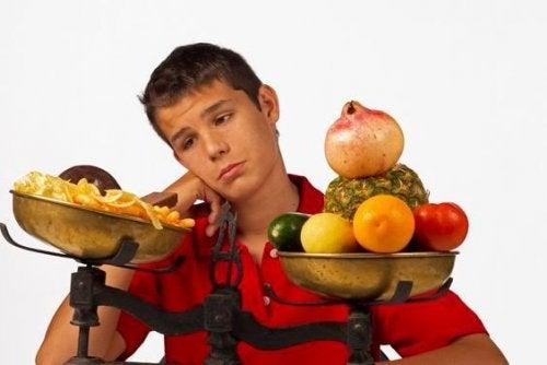 El peligro de las dietas durante la adolescencia