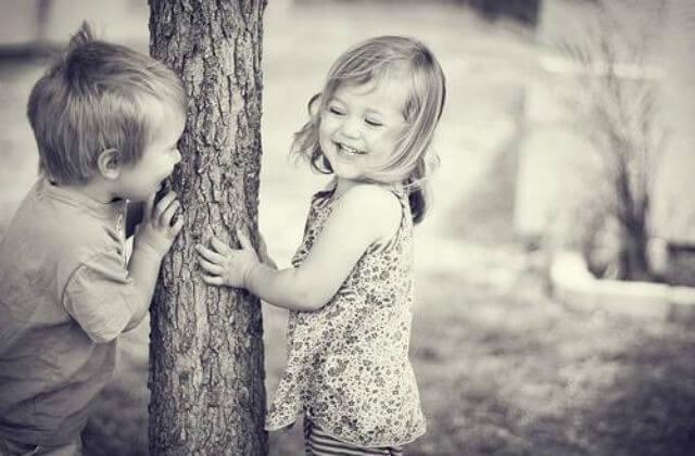 ¿Los niños se enamoran?