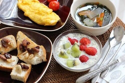 El desayuno, comida importante para grandes y pequeños