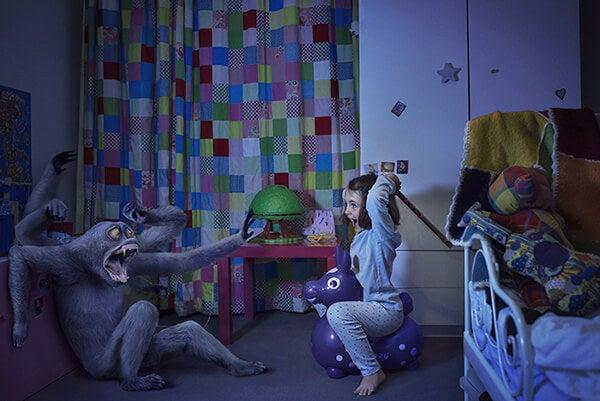 Los niños necesitan tu amor para derribar sus miedos