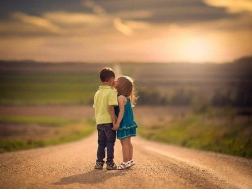 A los niños también se les rompe el corazón