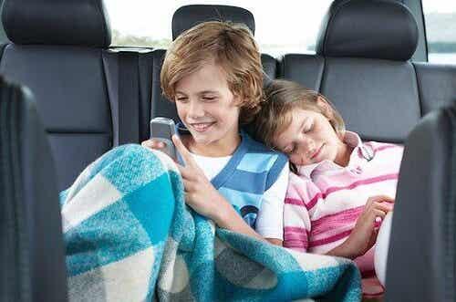 Tips para largos viajes en familia