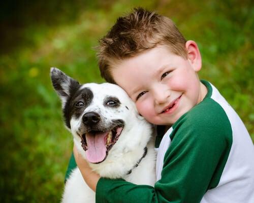 Miedo a los perros en los niños