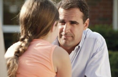 Padres separados comparten la crianza de los niños