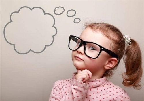 Claves para enseñar a pensar a los niños