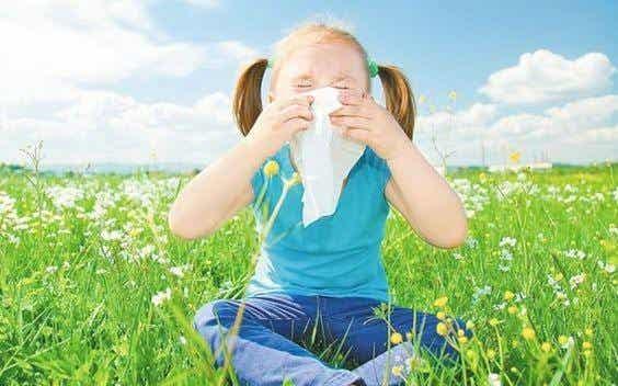 Cómo prevenir las alergias en los niños