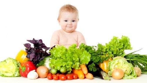 Niños vegetarianos, ¿es saludable?