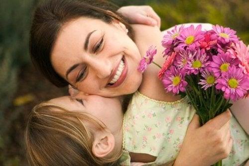 Ser mamá es gratificante