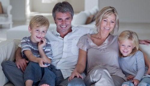 Vean películas en familia
